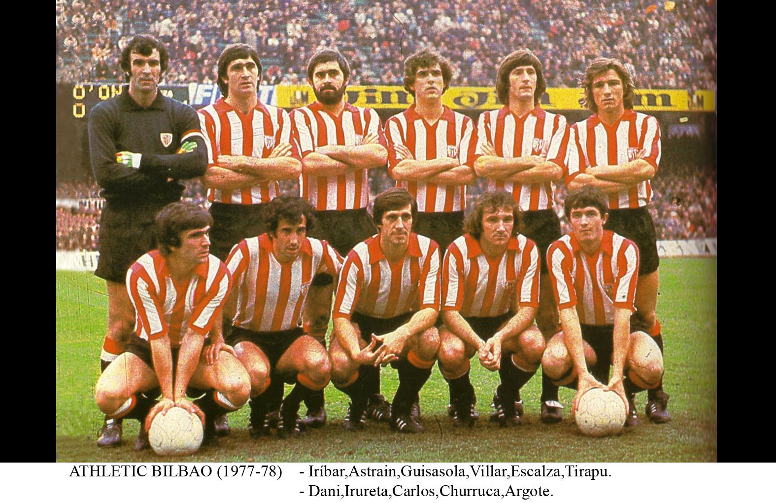 Resultado de imagem para athletic bilbao stadium 1977
