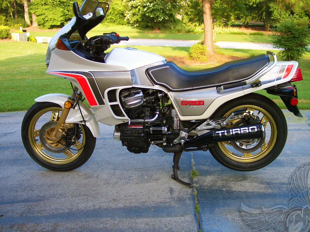 1982 cx500 turbo - left | motorcycle picture of the day