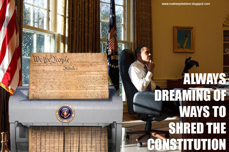 The Constitution has no meaning for Obama