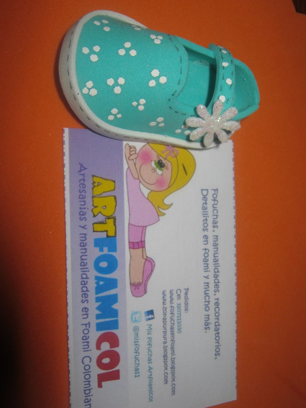 Nuevos Zapatos Fofuchos LLavero Navideño Foami Goma-eva Artfoamicol ...