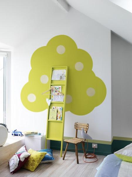 Decoracion de dormitorios for Decoracion para pared infantil