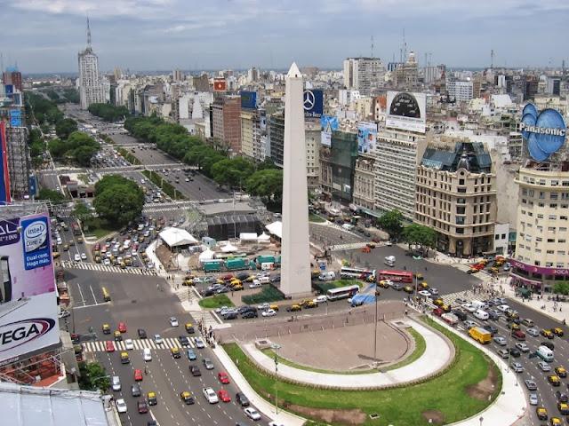 Visita Buenos Aires, Argentina