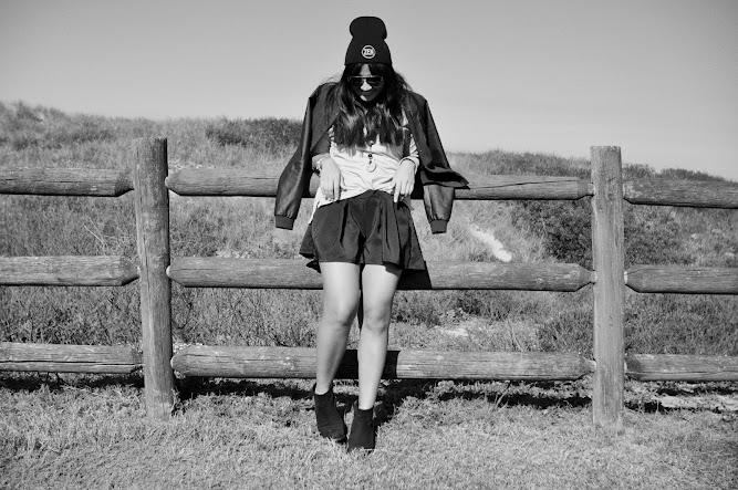 MayaXo shorts Zen Garage Beanie Stussy jacket