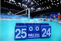 Juegos Europeos Bakú 2015 - Voleibol