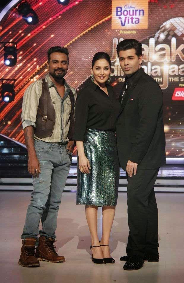 Madhuri Dixit at the launch of 'Jhalak Dikhhla Jaa' Season 7