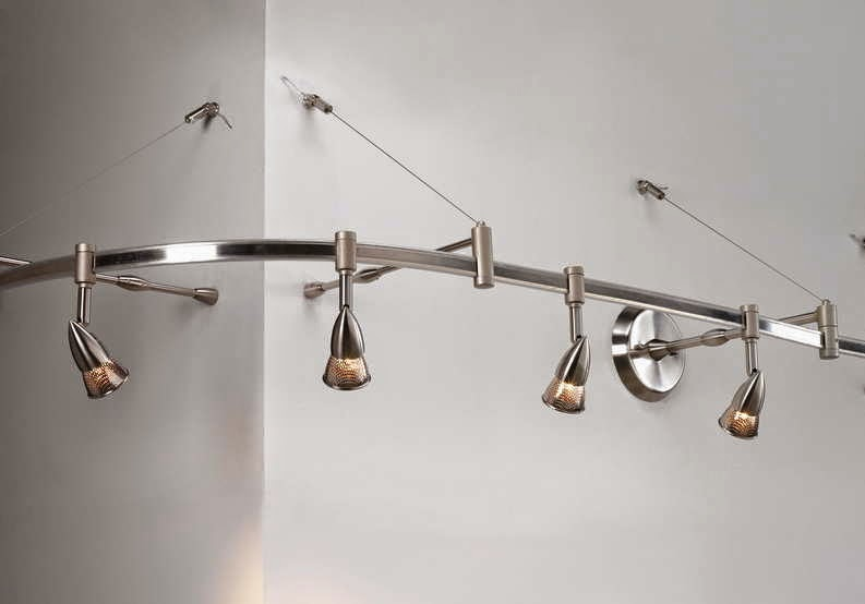 wall track lighting flexible