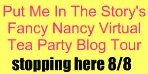 Fancy Nancy Virtual Tea Party Blog Tour
