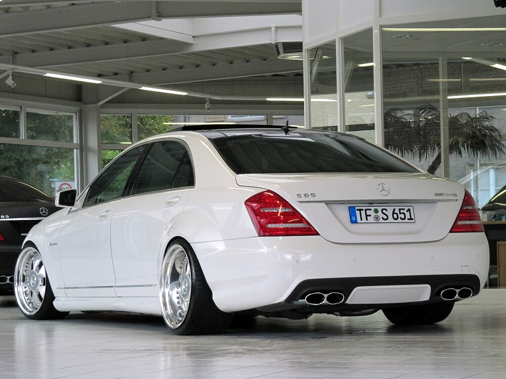 Mercedes-Benz W221 S65 AMG MAE RIMS | BENZTUNING | Performance and ...