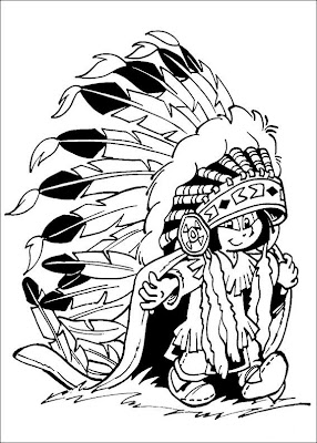 YAKARI Coloring Pages