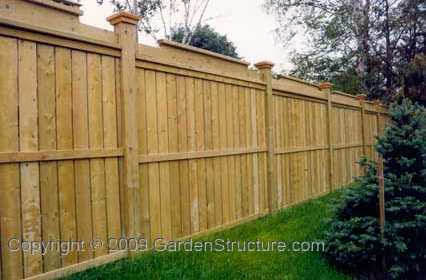 Inexpensive wooden fence ideas
