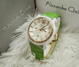 jam tangan alexandre cristie cewek