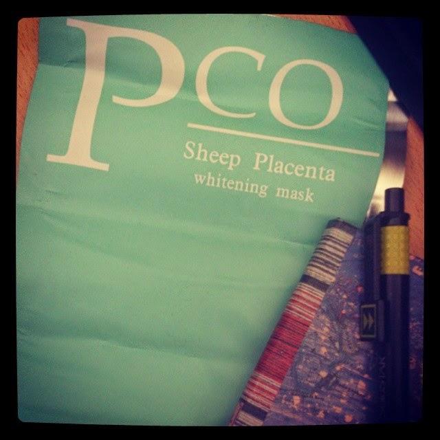 PCO Sheep Placenta Whitening Mask - Pco Plesanta Maskesi kullananlar - Plesanta maskesi nedir - Plesanta maskesi nasıl kullanılır - Pco Maskesi