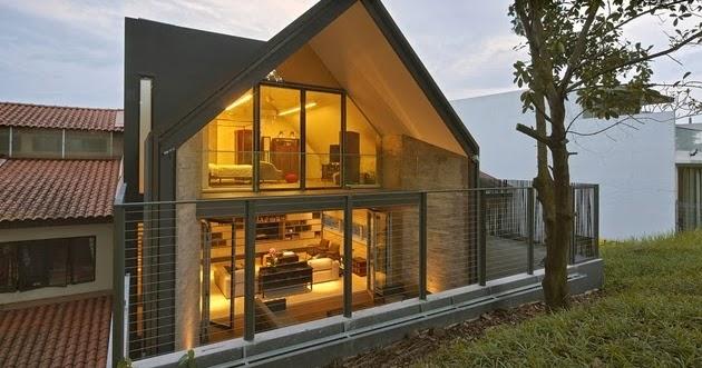 Desain Rumah Minimalis 2 Lantai Hook Gambar Foto Desain