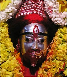 Face of Maa Tara in Tarapith Temple