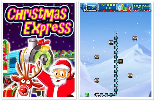 Nokia C3 Game : Christmas Express