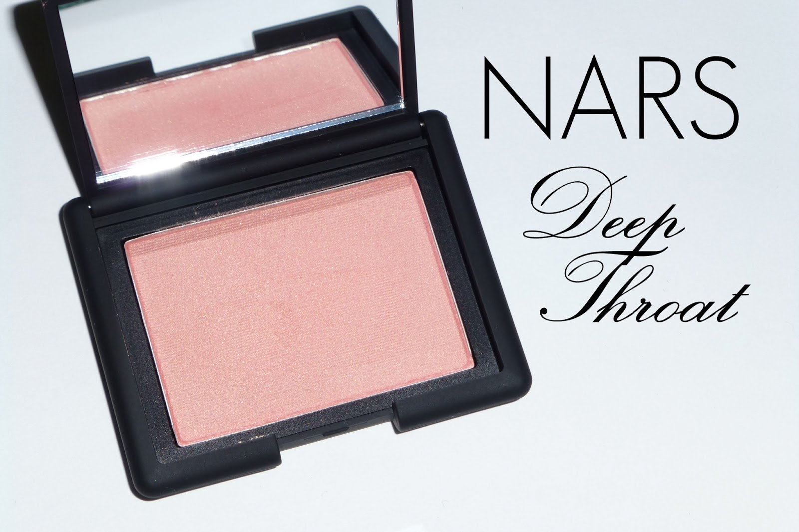 nars deep throat blush review photos swatches the skin and beauty blog. Black Bedroom Furniture Sets. Home Design Ideas