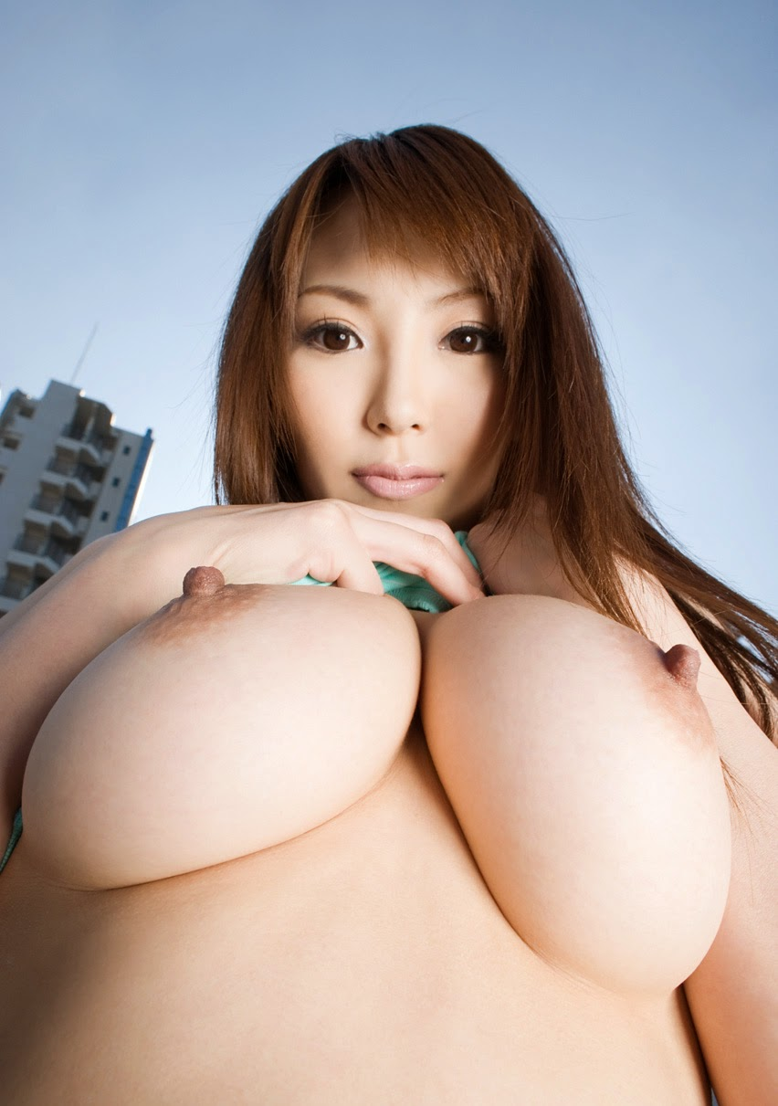 cute Asian with big breasts