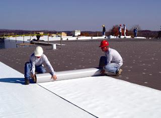 ремонт на покрив на панелен блок