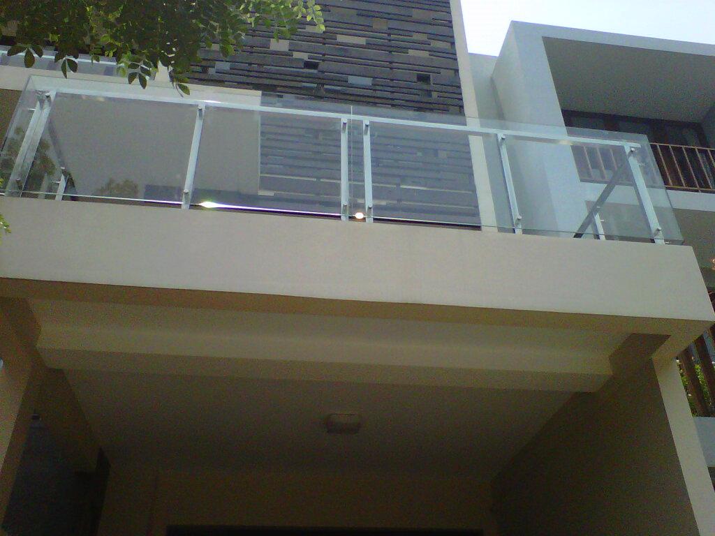 Canopy Carportkanopi Balkon Railingparapethandrail