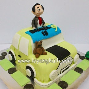 3D Mr.Bean and Car