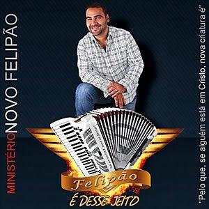 Capa do CD CD Felipão e Banda   É Desse Jeito