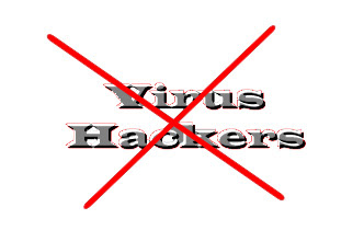 No virus and no hackers