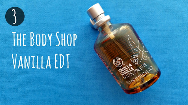 the body shop vanilla eau de toilette edt