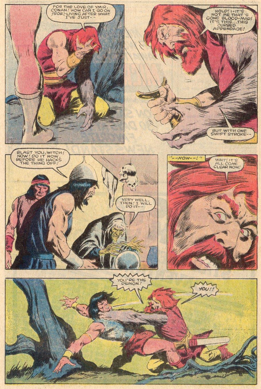 Conan the Barbarian (1970) Issue #161 #173 - English 18