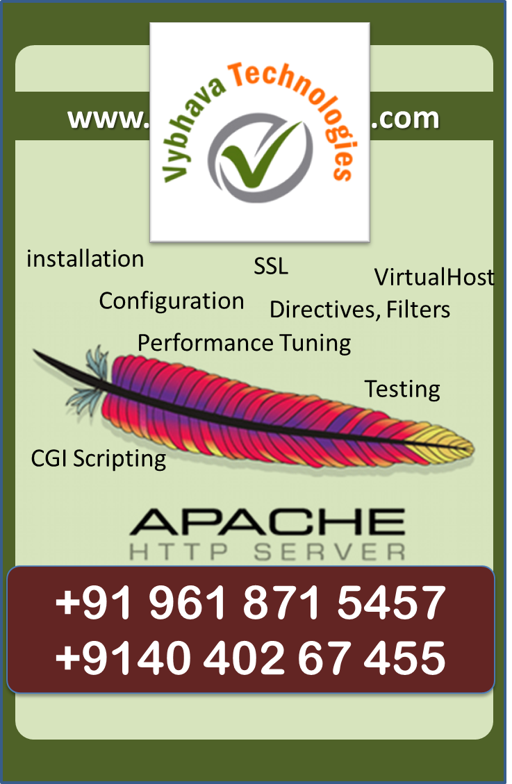 Apache Web server Course
