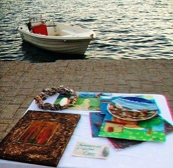 """Το Καλλιτεχνικό Εργαστήρι """"ART ENERGY"""" της Καλλιόπης Μπινιάρη εκθέτει τα έργα του στην Ερμιόνη ..."""