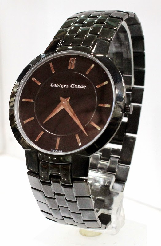 george claude 4139 all black male 44mm