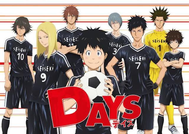 Visual Dan Staf Utama Untuk Anime Sepak Bola 'Days' Diungkapkan