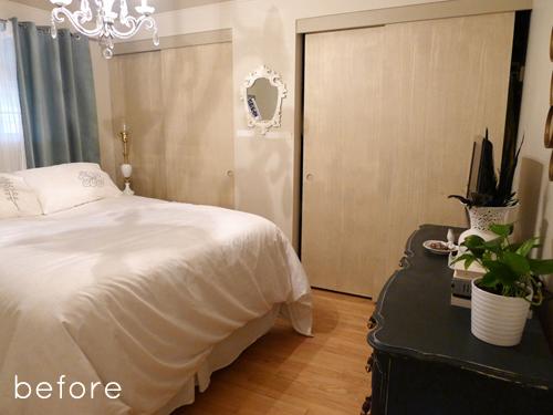 Antes y despu s habitaci n matrimonio la garbatella - Habitaciones low cost ...