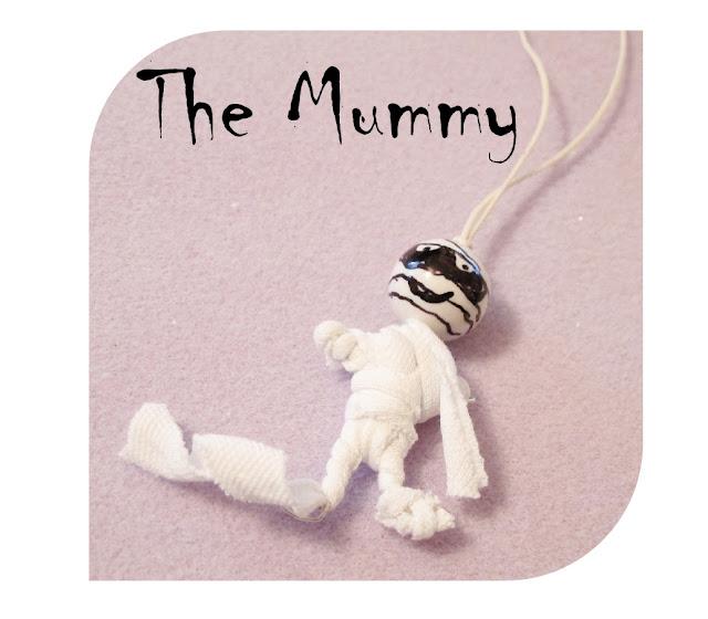 beaded mummy