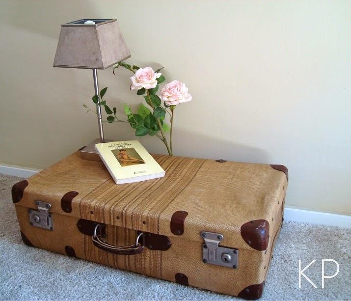 Equipaje vintage antiguo. Venta de maletas vintage para decoración en valencia.