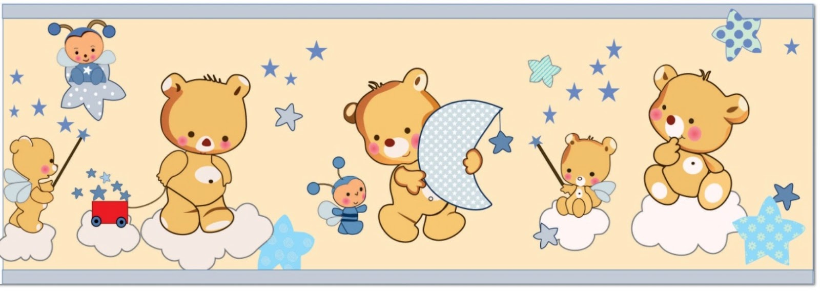 Sgblogosfera mar a jos arg eso cenefas para beb s - Cenefas decorativas infantiles ...