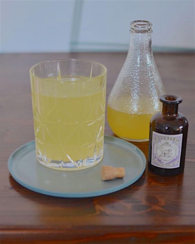 Selbstgemachter Ingwer Orangen Sirup