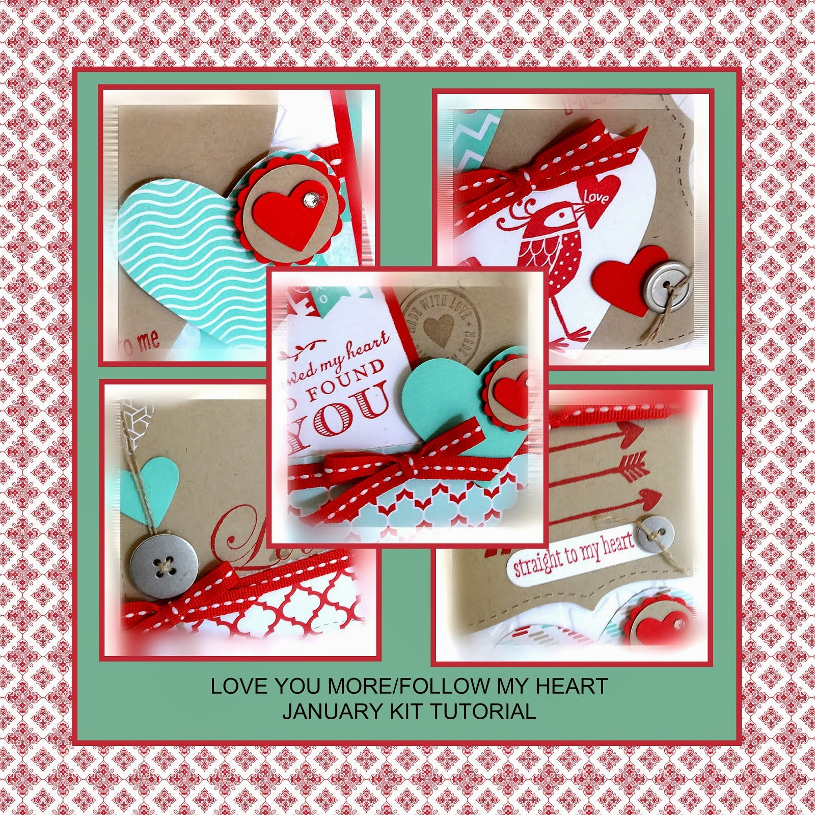 January Love You More/Follow My Heart Tutorial