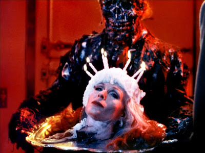 A zombie finally gets his cake in the form of a head in Creepshow