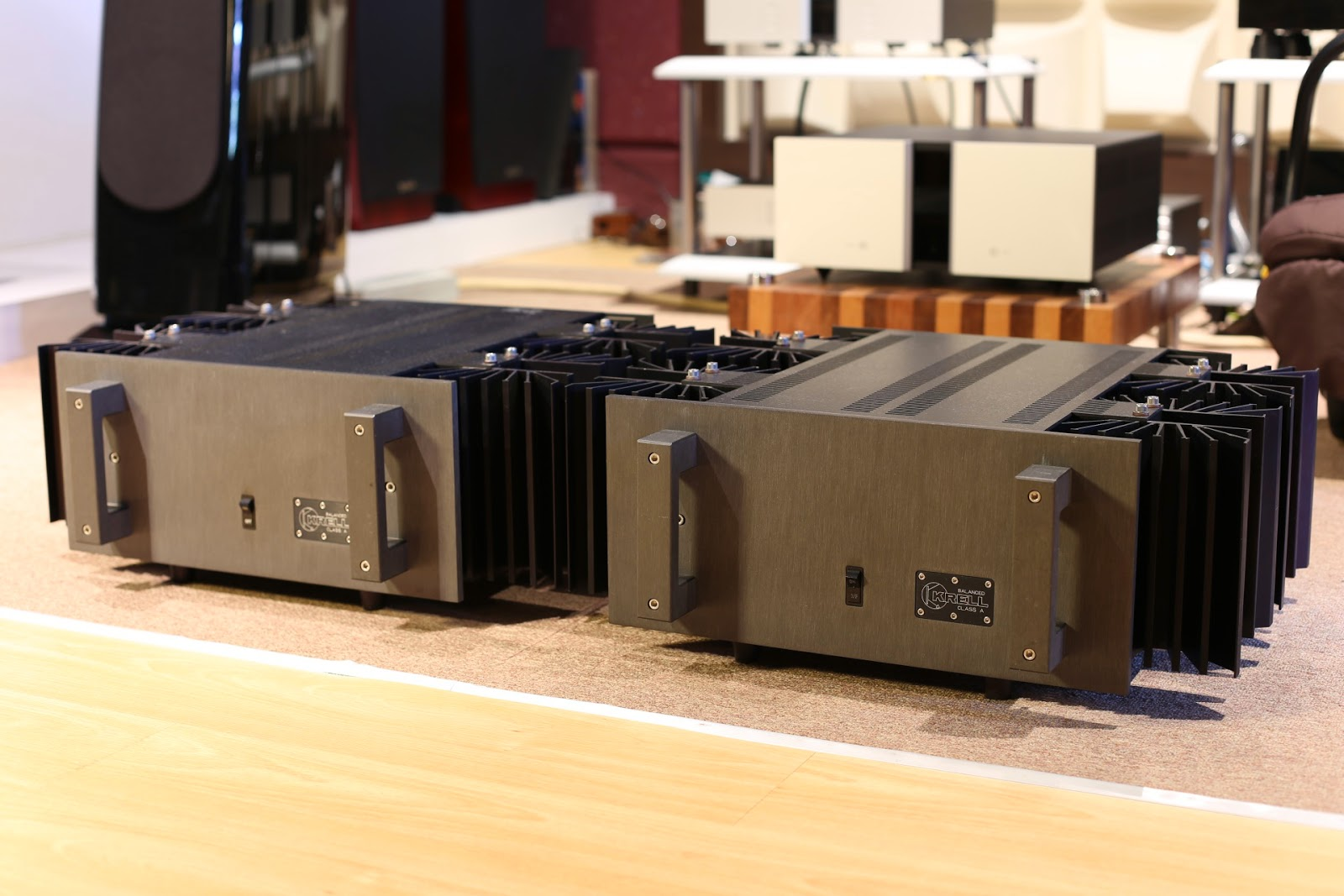 dong fong audio krell kma 160 ( used )krell kma 160 ( used ) used for sale krell classa mono block power amp 160w pure class a
