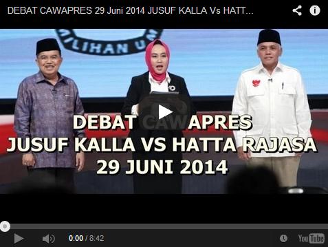 Debat Cawapres 2014