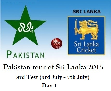 pak vs SL test 3 day 1