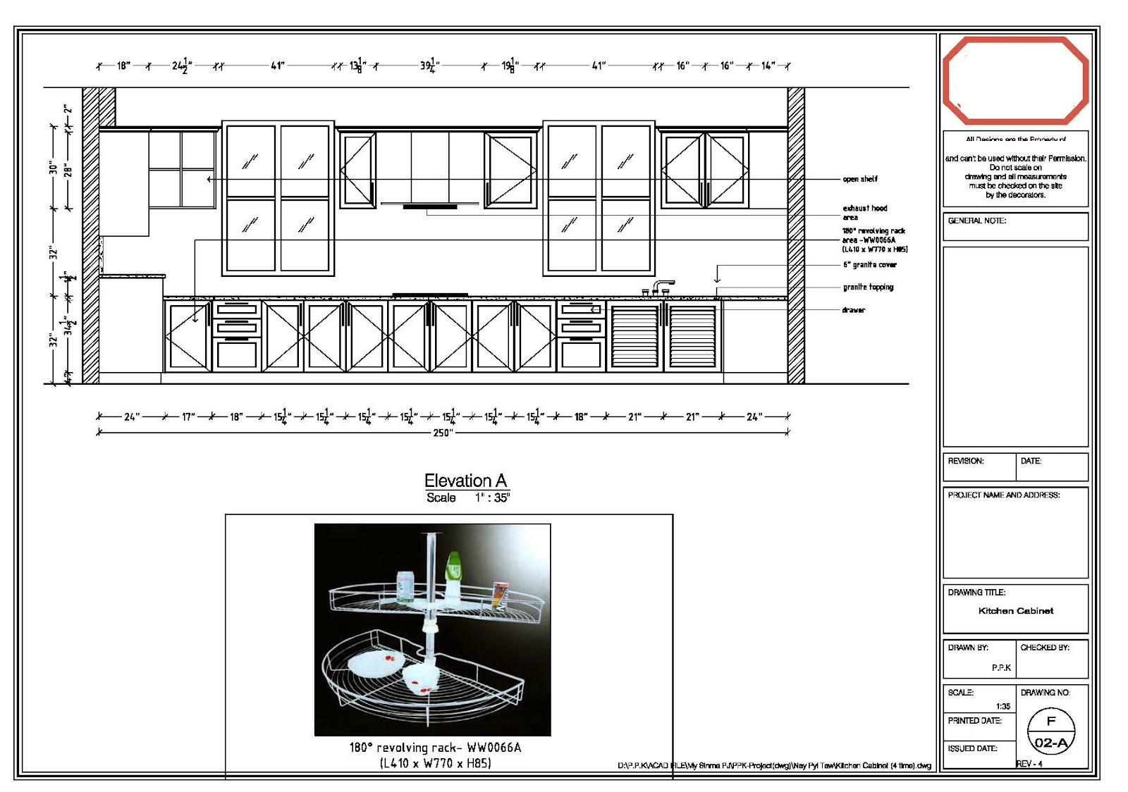 Kitchen cabinet cad kitchen cabinet details cad for Autocad kitchen cabinets