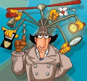 Inspetor Bugiganga - desenho animado. Conheça a sua história e relembre a abertura.