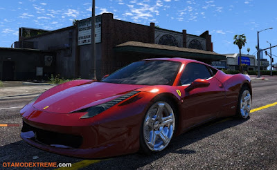 Baixar carro Ferrari 458 Italia Para GTA V