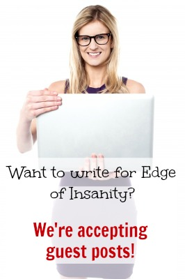 Guest posts on Edge of Insanity