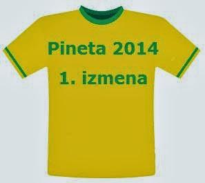 Pineta 2014 - prva izmena