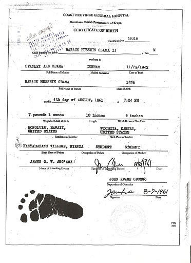 kenyan birth certificate obama. I#39;ve seen a Kenya birth