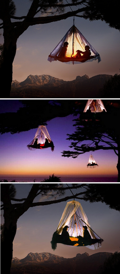 exPress-o: Romantic Tree Camping In Germany