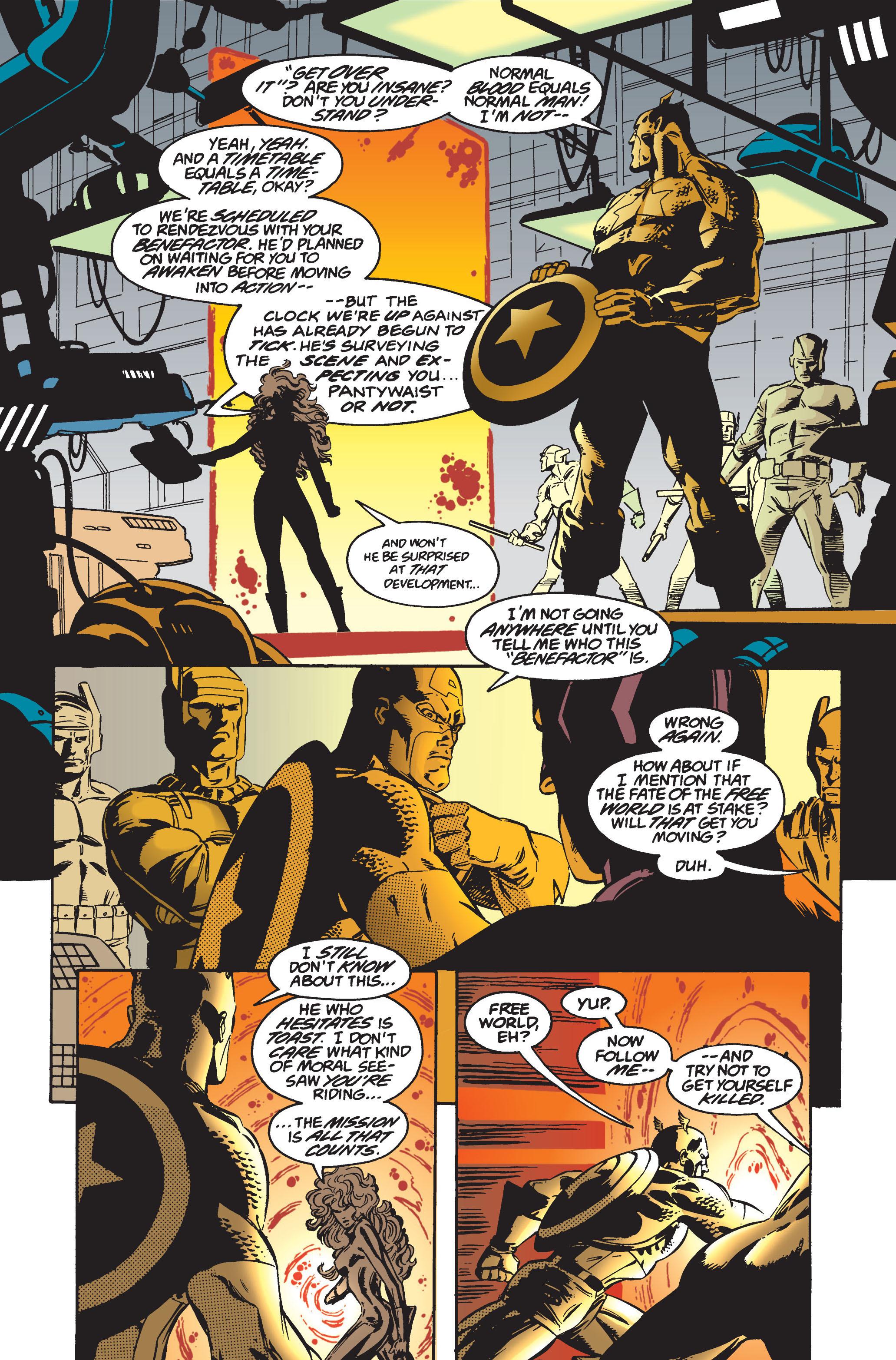 Captain America (1968) Issue #445 #399 - English 13